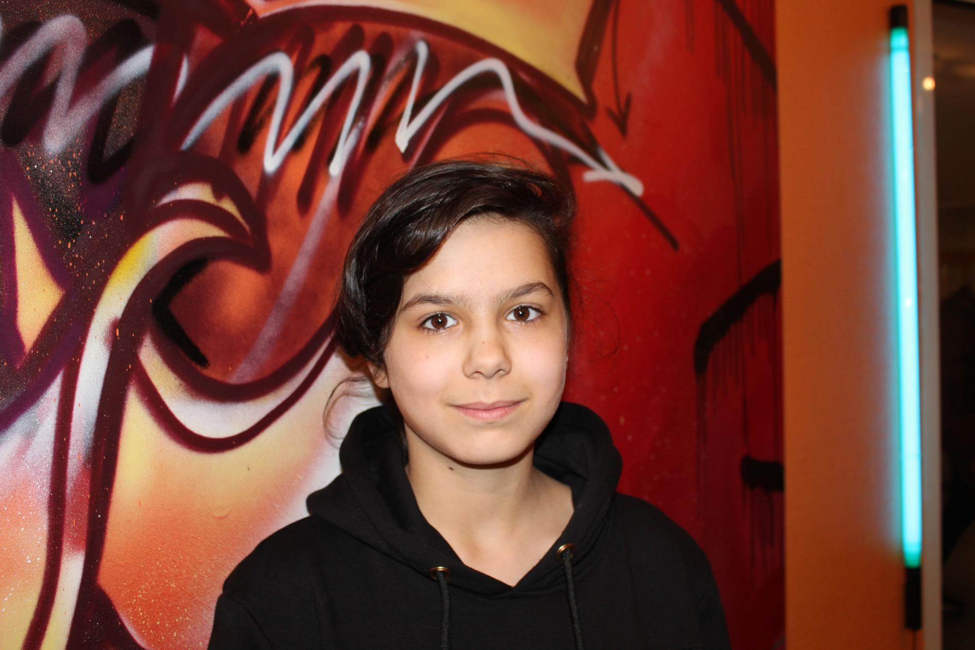 Den Sonderpreis für den 'Besten Mädchen-Act' gewann 'Voice of famous' alias Sharin A.